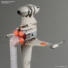 Bandai B Wing Lighting Kit Bandai Star Wars B Wing Starfighter Model Kit By Bandai