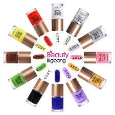 <b>BeautyBigBang</b> 6 bottles Holographic <b>Nail</b> Polish NEW Arrival 2018 ...