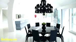 what size chandelier dining room