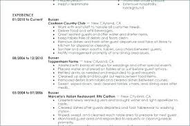 Restaurant Busser Resume Naturalmediaus Unique Busser Resume