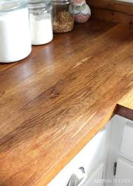 butcher block wood reviews best finish for wooden kitchen countertop oil decor
