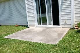 concrete slab patio makeover. Unique Makeover Concrete Slab Patio Makeover Throughout Small  Decorating  For Concrete Slab Patio Makeover D