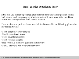 cashier experience bank cashier experience letter 1 638 jpg cb 1409563964