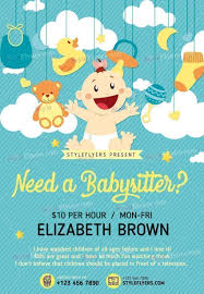 Babysitting Templates Flyers 009 Template Ideas Free Babysitting Flyer Microsoft