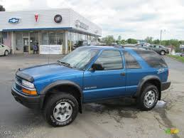 Blazer chevy blazer 2001 : 2001 Space Blue Metallic Chevrolet Blazer LS ZR2 4x4 #29483822 ...