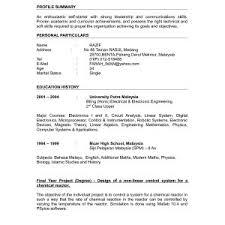 Sample Cv For Fresh Graduate Mechanical Engineer Best Cover Letter