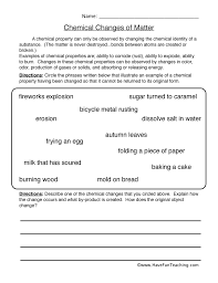 Physical Science Worksheets | Have Fun Teaching