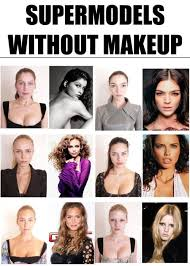 super models without makeup this makes me feel good about myself image led look how