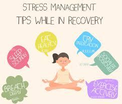 Stress Management Methods Technique Chart Training