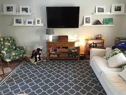 safavieh indoor outdoor courtyard gray rug in living room