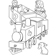 Small Picture Top 26 Free Printable Train Coloring Pages Online