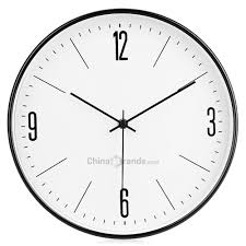 drop for 29cm silent metal wall clock quiet sweep home art decor to at whole dropship website chinabrands com
