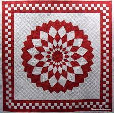 40 best Quilts - Dahlia images on Pinterest | Hats, Christmas tree ... & Giant Dahlia quilt, quilted by L Designs Quilting. I love the background  quilting! Adamdwight.com