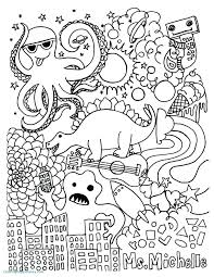 Ornaments Coloring Pages To Print Anti Stress Coloring Ornaments