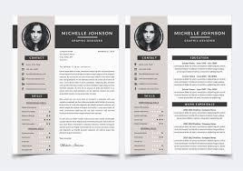 Resume Template For Photoshop By Nm Design Studio Thehungryjpeg Com