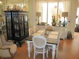 painted dining room furniture ideas. Console Table With Lamp And Refinishing Wood Dining Also White Curtains For Your Painted Room Furniture Ideas