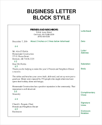 Letter Bussines Business Letter 13 Free Word Pdf Documents Download Free