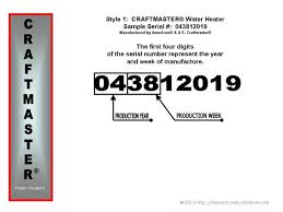 Us Craftmaster Water Heater Age Chart Craftmaster Water Heater Age Building Intelligence Center