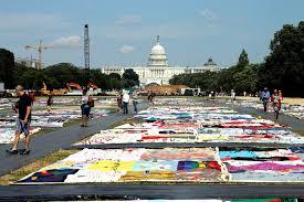 Pieces Of AIDS Quilt Blanket Nation's Capital : NPR & Pieces Of AIDS Quilt Blanket Nation's Capital Adamdwight.com