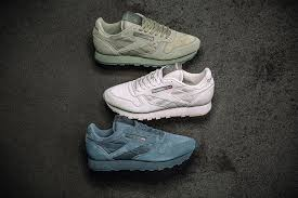 starting with the classic leather pictured above single handedly the most iconic reebok running silhouette dating back to 1983 the collection s