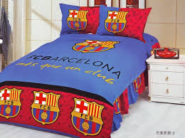 home textile 100 cotton barcelona bedding set duvet covers football bedding sets fan bedroom set bed sheet set