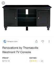 thomasville bridges tv stand in great condition for ca