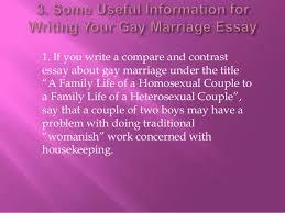 gay marriage essay conclusion pro gay marriage essay conclusion