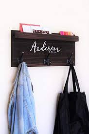 Anderson Coat Rack New Amazon Coat Rack Family Backpack Hooks With Storage Ledge Handmade