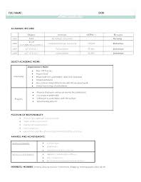 Resume Format For Download Mesmerizing Professional Format Of Resume Resume Format For Freshers Free