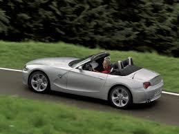 Sport Series 2006 bmw z4 : 2006 BMW Z4 M Roadster - Silver - Rear Angle - Speed - 1280x960 ...