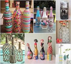 How To Decorate A Glass Bottle Creative Ways to Decorate Glass Bottles 2