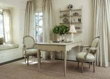 off white gives the home office a shabby chic look 217x155 30 gorgeous shabby chic home chic home office white