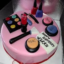 mac makeup kit theme cake cfg09