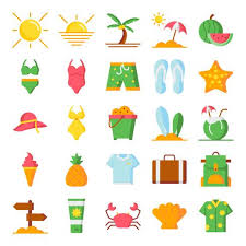 Summer Icons Summer Icons Pack Download Free Vectors Clipart Graphics