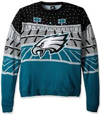 Philadelphia Eagles Sweater With Lights Amazon Com Forever Collectibles Nfl Philadelphia Eagles