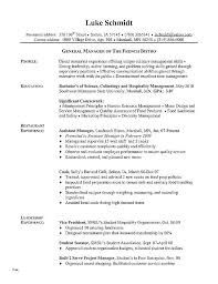 Management Skills Resume Interesting Management Skills On Resume Description For Gallery Of Line Cook Job