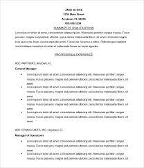 Free Microsoft Word Resume Format Editable Download