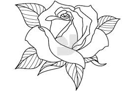 Drawings Of Roses Abeoncliparts Cliparts Vectors