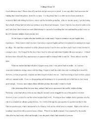 Narrative Essay Example College Free 10 Beneficial Narrative Essay Samples In Pdf Doc