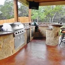 this well equipped kitchen is designed and built for owners who enjoying entertaining outdoors