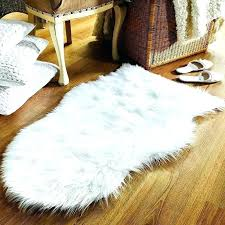 gray fur area rug faux small ivory sheepskin land of canada red ont