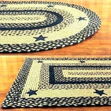 large oval area rugs braided decoration small round rug braid