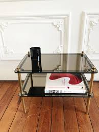 mirror effect furniture. Side Table With Mirror Effect Glass Furniture