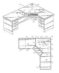 white wallpaper computer desk plans sketches design blueprint number fifteenrje scale black line drawer
