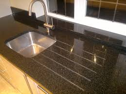 Granite Kitchen Work Tops How To Fit A Kitchen Sink In Worktop House Decor