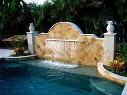 Diy Pool Waterfall Interior Heavenly Pools Waterfalls Light For Pool Waterfall