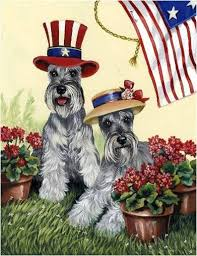 aren t the schnauzer garden flags just too adorable you can find just about anything on amazon give it a go type what you re looking for in the search