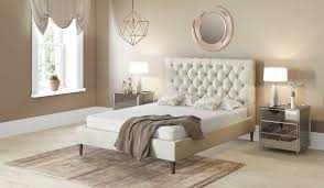 white upholstered beds. 135cm Bed Frame Emily Dove Grey Smooth With Dark Feet White Upholstered Beds