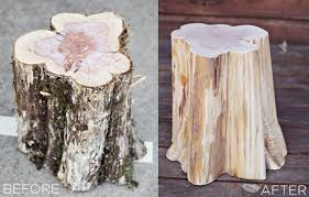 tree trunk furniture for sale. How To Make Tree Stump Furniture Trunk For Sale E