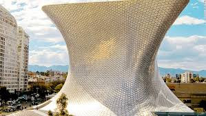 Fernando Romero designed the jaw-dropping Soumaya Museum in Mexico City.  The building is